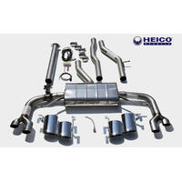 HEICO SPORTIV Quad tailpipe sport exhaust system with electronic flap control S90/V90, TYPE 234/235, T4/T5/T6 (ECAK/25/A3/B4204T31/T26/T29)