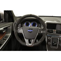sport steering wheel for shift paddles (Anthrazit/Silver) S60/V60/S80/V40/V70/XC70/XC60 (134/155/124/555/135/136/156)