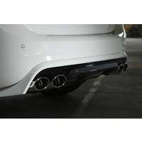 Rear Skirt in Diffuser Look incl. Exhaust System S60/V60 , Type 134/155, T3/T4/T5/T6 (EC M37/41/40/49/B4204T11/T9)