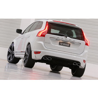 XC60 (156) Rear skirt insert in diffuser look